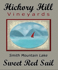 Sweet Red Sail cropped label
