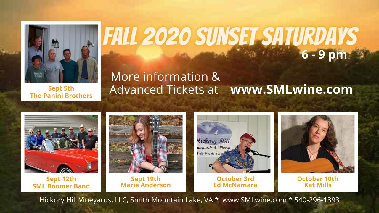 Fall 2020 Sunset Saturday