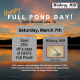 Full Pond Day Sale 2021