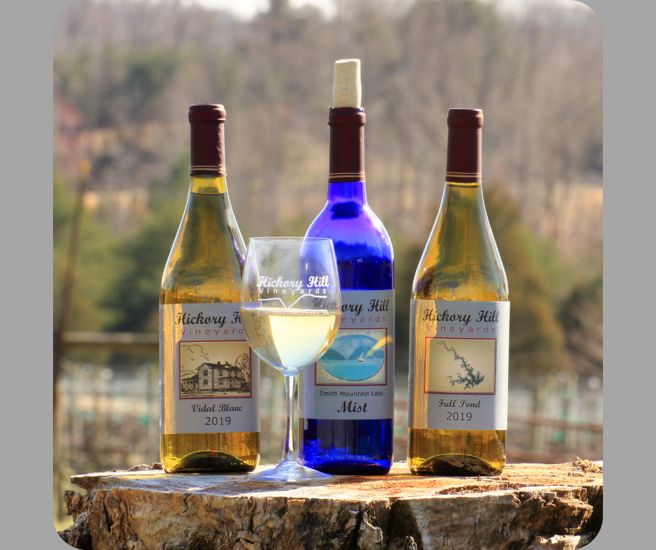 Hickory Hill Vineyard's trio of 2021 VA Governor's Cup winners