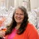 Wendy Furrow-Scott in the winery